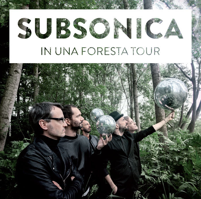 Subsonica a Catanzaro Lido, in una Foresta Tour 2015